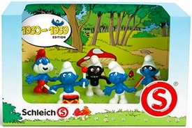 Schleich The Smurfs Mini Figure 5-Pack Set #41255 1960-1969