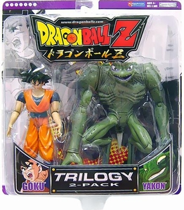 Dragon Ball Z Trilogy Action Figure 2-Pack Goku & Yakon