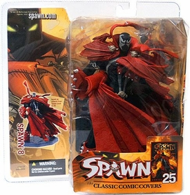 Spawn Classic Covers Series 25 Action Figure Spawn 8 Damaged Package, Mint Contents!