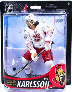 McFarlane Toys NHL Sports Picks Series 33 Action Figure Erik Karlsson (Ottawa Senators)  White Jersey Collectors Level Only 1,500 Made!