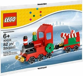 LEGO Seasonal Set #40034 Christmas Train [Bagged]