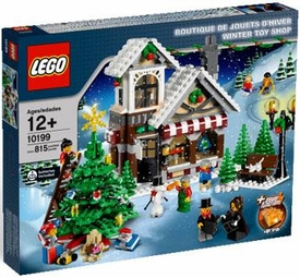 LEGO Exclusive Set #10199 Winter Toy Shop
