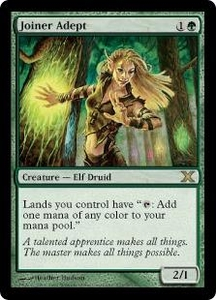 Magic the Gathering Tenth Edition Single Card Rare #271 Joiner Adept
