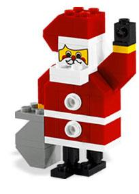 LEGO Mini Figure Set #10068 Santa Claus