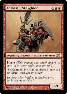 Magic the Gathering Tenth Edition Single Card Rare #214 Kamahl, Pit Fighter
