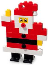 LEGO Mini Figure Set #40001 Santa Claus [Bagged]