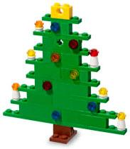 LEGO Mini Figure Set #40002 X-Mas Tree [Bagged]