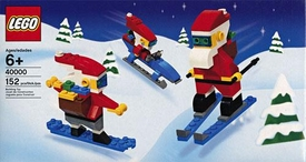 LEGO Mini Figure Set #40000 Cool Santas 3-Pack
