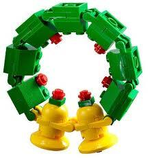 LEGO Creator Mini Figure Set #30028 Christmas Wreath [Bagged]