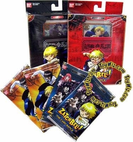 Zatch Bell Collectible Card Battle Game Starter Combo Set BLOWOUT SALE! Perfect for New Players!