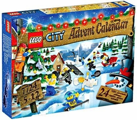 LEGO City Set #7724 2008 Advent Calendar