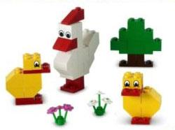 LEGO Set #10169 Chicken & Chicks [Bagged]