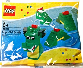 LEGO Mini Figure Set #40019 Brickley the Sea Serpent [Bagged]