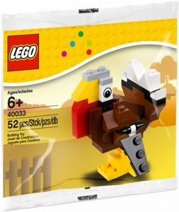 LEGO Thanksgiving Set #40033 Turkey [Bagged]