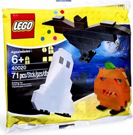 LEGO Halloween Set #40020 Ghost, Pumpkin & Bat [Bagged]