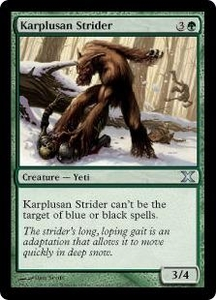 Magic the Gathering Tenth Edition Single Card Uncommon #272 Karplusan Strider