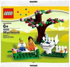 LEGO Seasonal Set #40052 Springtime Scene [Bagged] BLOWOUT SALE!
