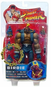Sota Toys Street Fighter Series 4 Action Figure Birdie [Blue-Gray]