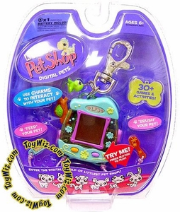 Littlest Pet Shop Virtual Electronic Digital Pet Toy (Similar to Tamagotchi) Iguana