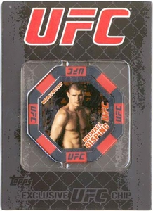 UFC Topps Main Event Exclusive Octagon Poker Chip Michael Bisping