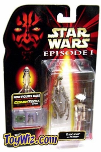 Star Wars Phantom Menace Gasgano with Pit Droid