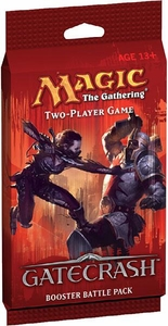 Magic the Gathering Gatecrash Two-Player Game Booster BATTLE Pack [2x 22-Card Decks, 2x Booster Packs, Guide & Rules]