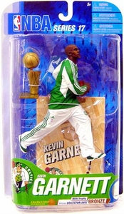 McFarlane Toys NBA Sports Picks Series 17 [2009 Wave 2] Action Figure Kevin Garnett (Boston Celtics) Trophy Bronze Collector Level Chase Only 1,600 Made!