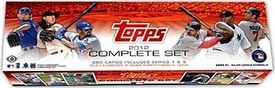 Topps MLB Baseball Cards 2012 Factory HOBBY EDITION Set [661 Cards Plus a 5-Card Pack of Orange Bordered Parallel Cards!]