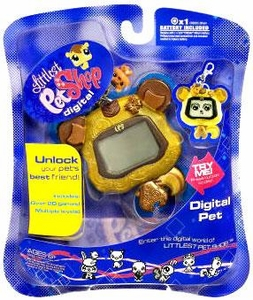Littlest Pet Shop 2009 Digital Pet Chipmunk