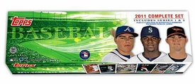 Topps MLB Baseball Cards 2011 Complete Set Holiday Edition [Includes Series 1 & 2]