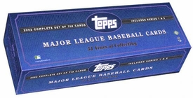 2002 Topps Baseball Cards Factory Sealed Complete Set