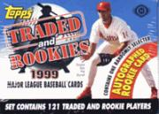 1999 Topps Baseball Cards Rookie and Traded Set