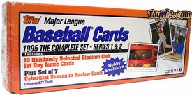 1995 Topps Baseball Cards Factory Sealed Set