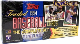 1994 Topps Rookie and Traded Baseball Cards Factory