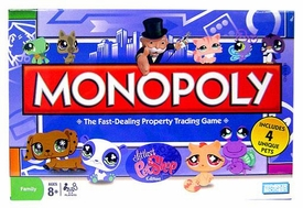 Littlest Pet Shop Exclusive Monopoly Game [Includes 4 Unique Pets!]