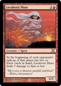 Magic the Gathering Tenth Edition Single Card Rare #216 Lavaborn Muse