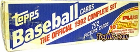 1992 Topps Baseball Cards Factory Sealed Set