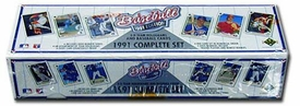 1991 Upper Deck Baseball Cards Factory Sealed Set