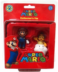 Super Mario Brothers Series 2 Collectors Tin 2-Pack Lakitu & Mario [Red]
