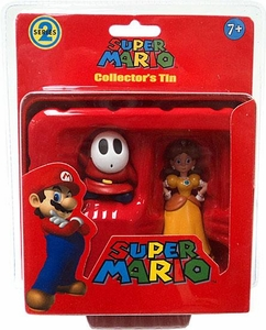 Super Mario Brothers Series 2 Collector�s Tin 2-Pack Shy Guy & Daisy [Red]