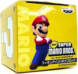 New Super Mario Brothers BanPresto Mini PVC Boxed Mario