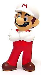 New Super Mario Brothers BanPresto Mini PVC Fire Mario