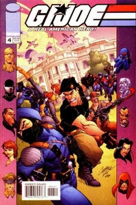 Comic Books GI Joe #4