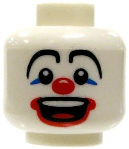 LEGO LOOSE Head Clown Face Laughing