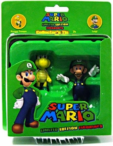 Super Mario Brothers Limited Edition Figure Series 2 Collector�s Tin 2-Pack Koopa Troopa & Luigi