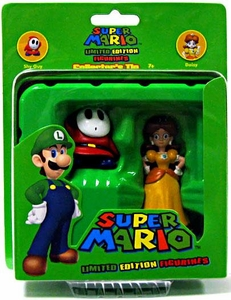 Super Mario Brothers Limited Edition Figure Series 2 Collector�s Tin 2-Pack Shy Guy & Daisy