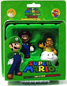 Super Mario Brothers Limited Edition Figure Series 2 Collector�s Tin 2-Pack Lakitu & Mario