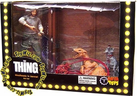 Sota Toys Now Playing Series 3 Action Figure Deluxe Boxed Set R.J. Macready Vs. Dog Thing from The Thing