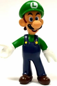 Super Mario LOOSE Mini 2 Inch PVC Figure Luigi