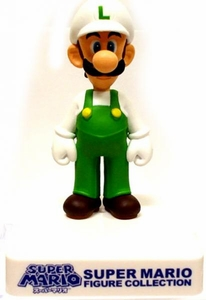 Super Mario Banpresto 3 Inch Mini Figure Collection Fire Luigi
